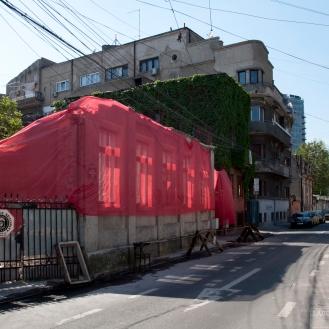 Casa de sec. XIX în demolare (23 aprilie 2016). Foto: Theodor E. Ulieriu-Rostás.