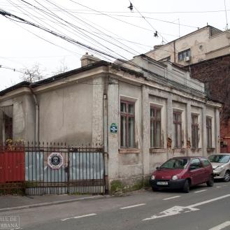 Casa de sec. XIX (decembrie 2015). Foto: Theodor E. Ulieriu-Rostás