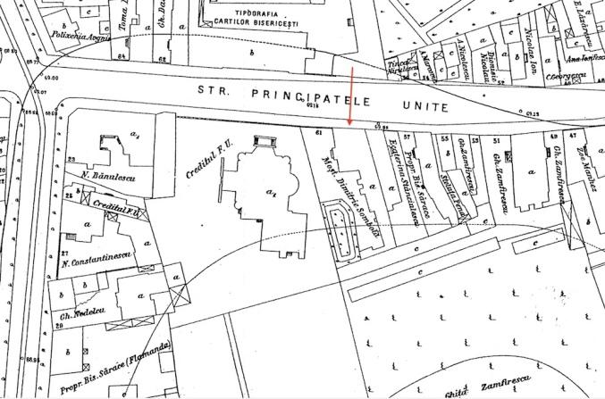 Planul cadastral din 1911