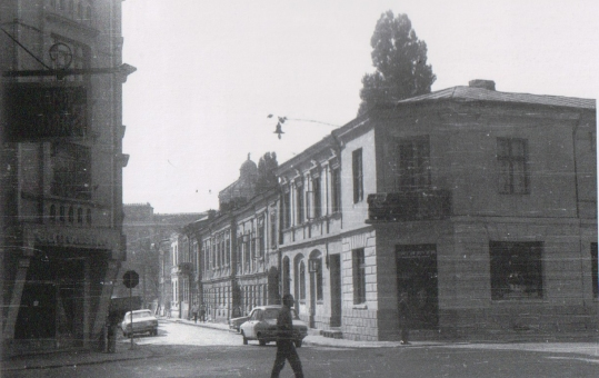 începutul str. Ienăchiță Văcărescu (1985); foto Cristian Popescu
