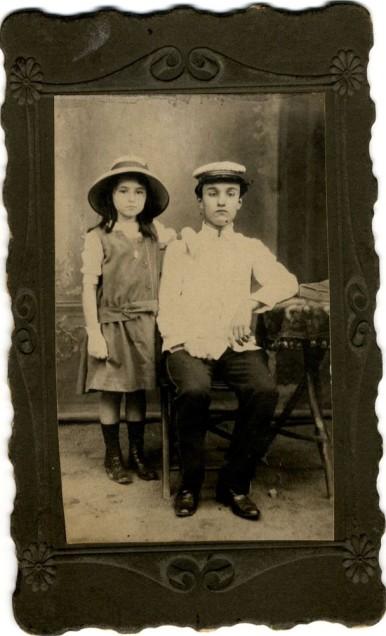 Mișu și Mariella Andricu (Bibl. Digitală Națională)