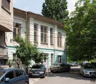 Casa Crețulescu-Lahovary: fațada de vest (iunie 2018).